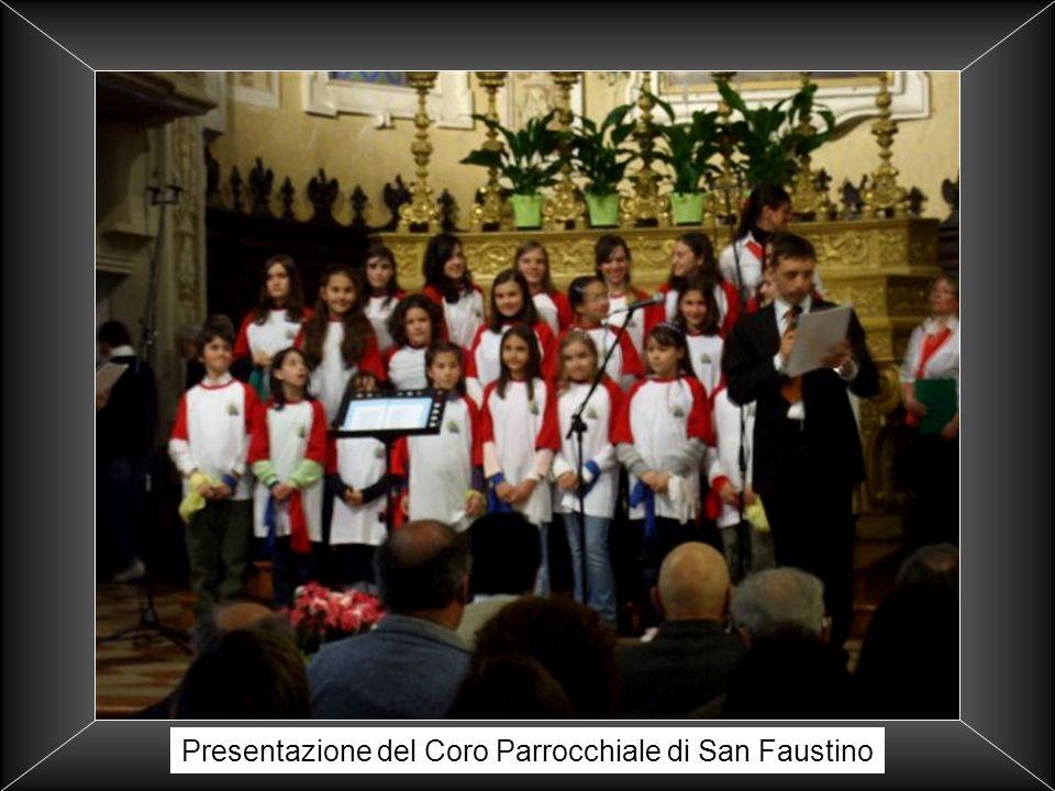 Presentazione del Coro Parrocchiale di San Faustino