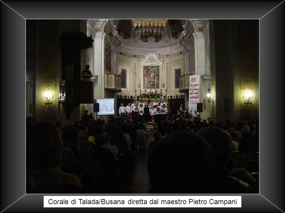 Corale di Talada/Busana diretta dal maestro Pietro Campani