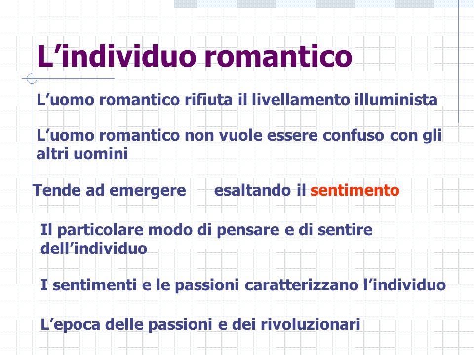 L'individuo romantico