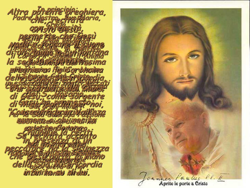 Padre Nostro, Ave Maria, Credo.