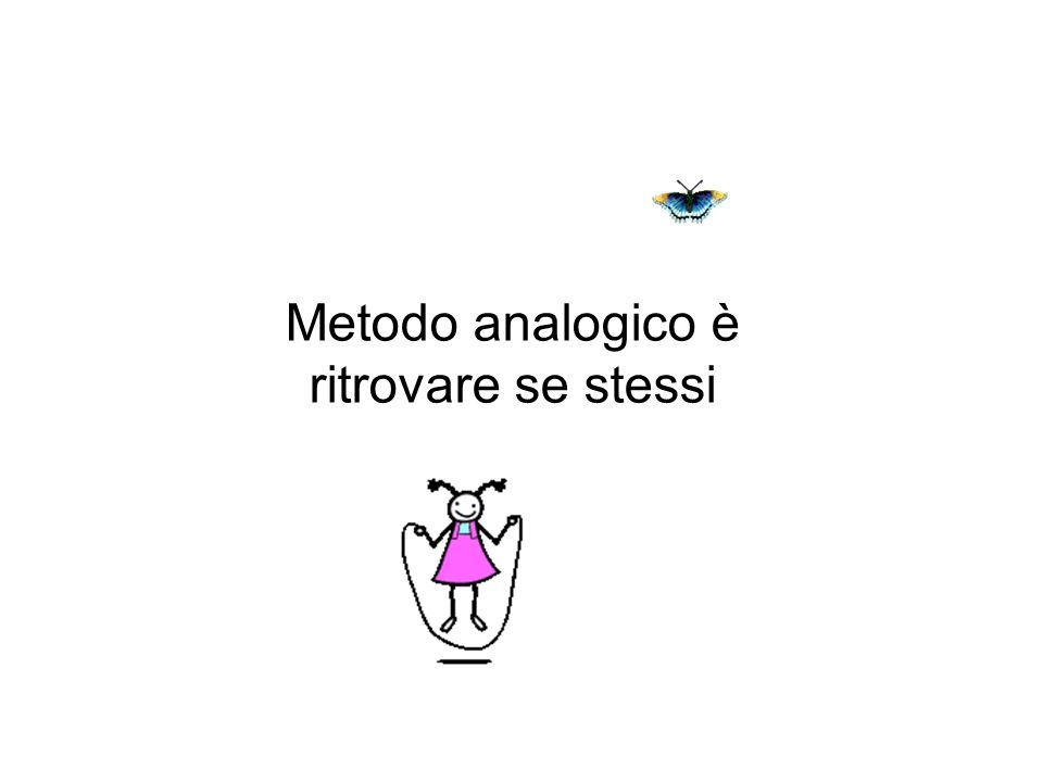 Metodo analogico è ritrovare se stessi