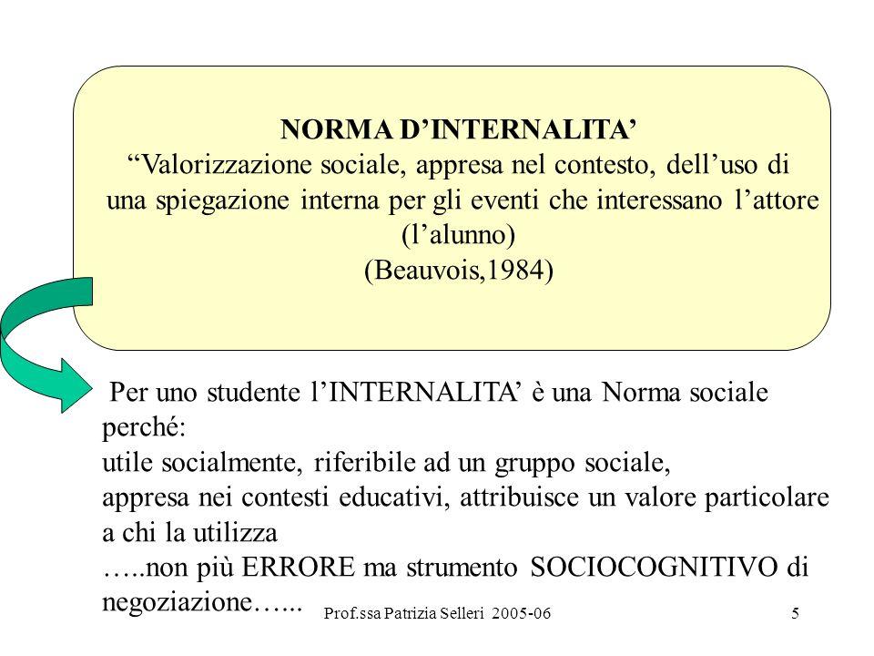 Valorizzazione sociale, appresa nel contesto, dell'uso di