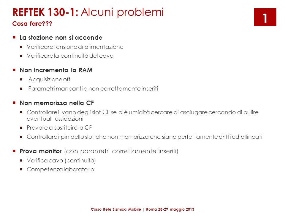 Corso Rete Sismica Mobile | Roma 28-29 maggio 2013