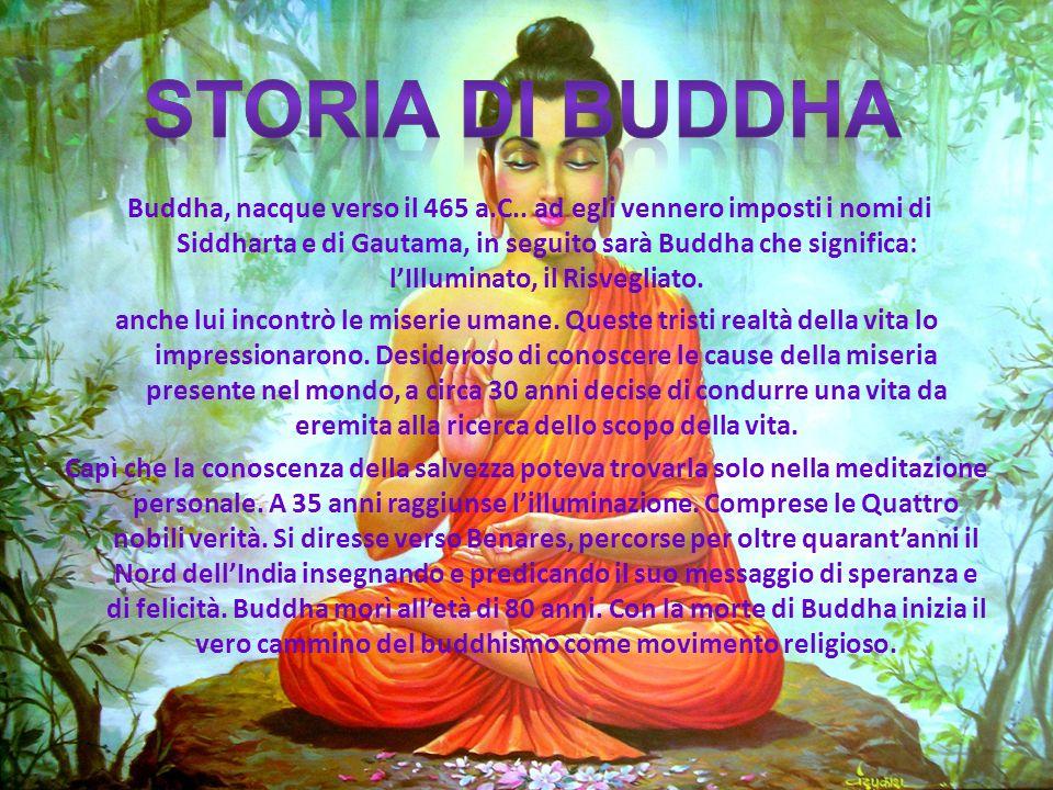 Storia di buddha