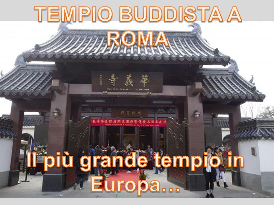 Il più grande tempio in Europa…
