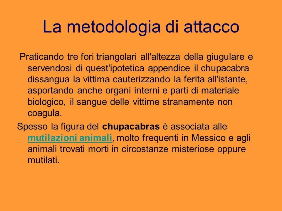 La metodologia di attacco