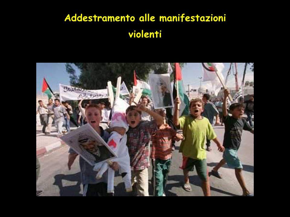 Addestramento alle manifestazioni violenti