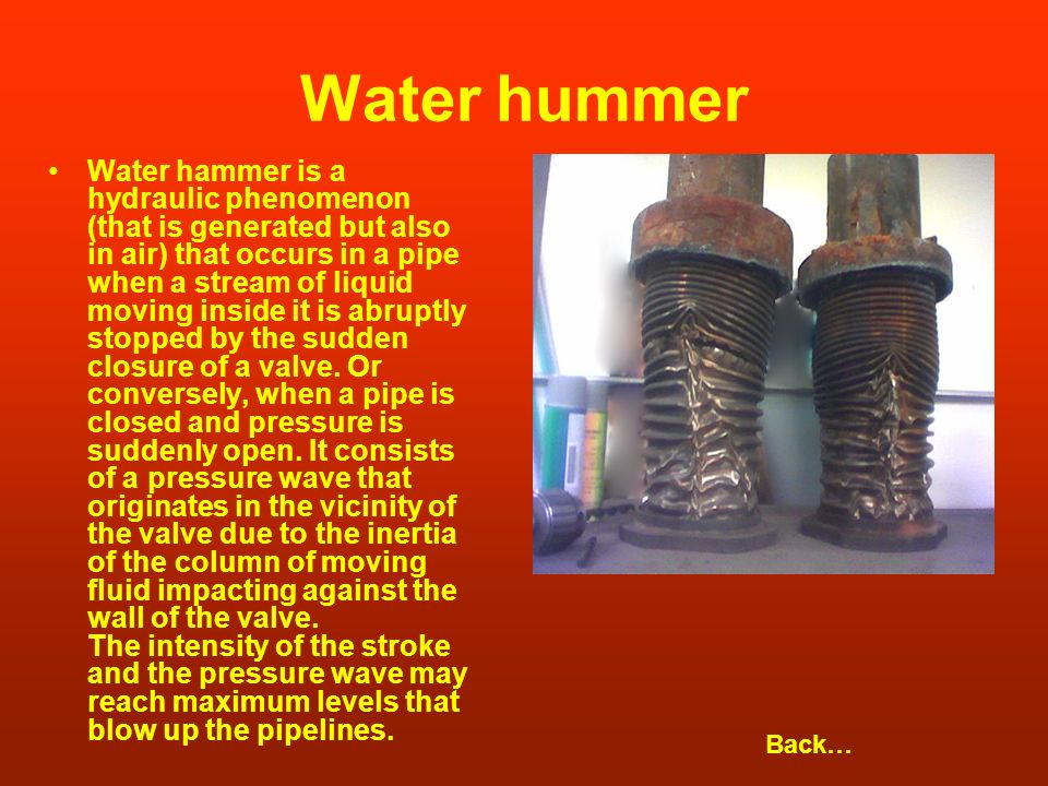 Water hummer