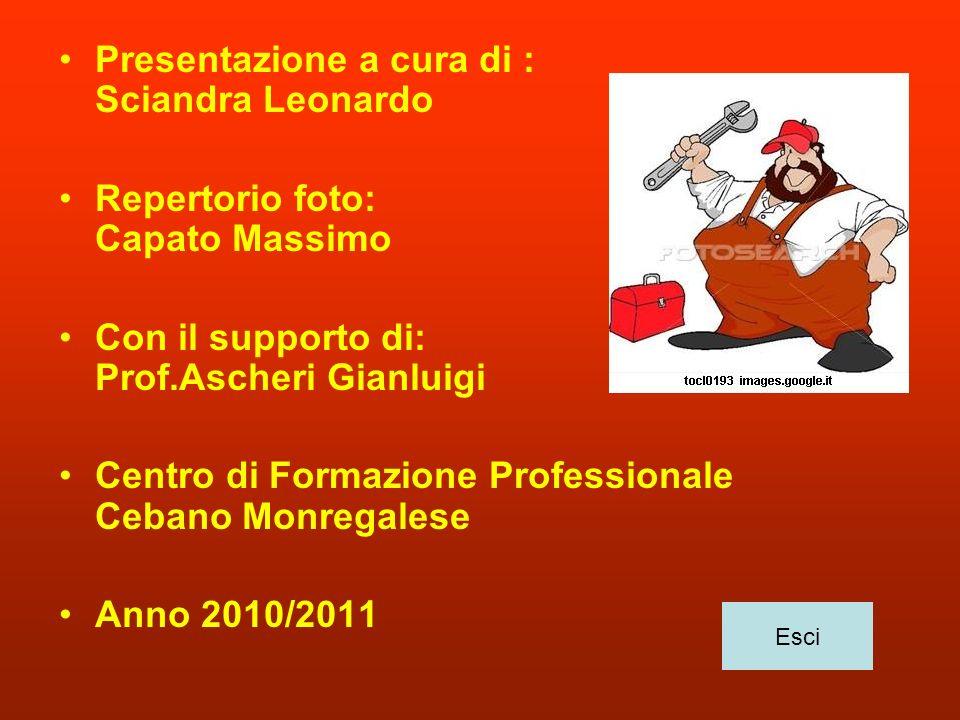 Presentazione a cura di : Sciandra Leonardo