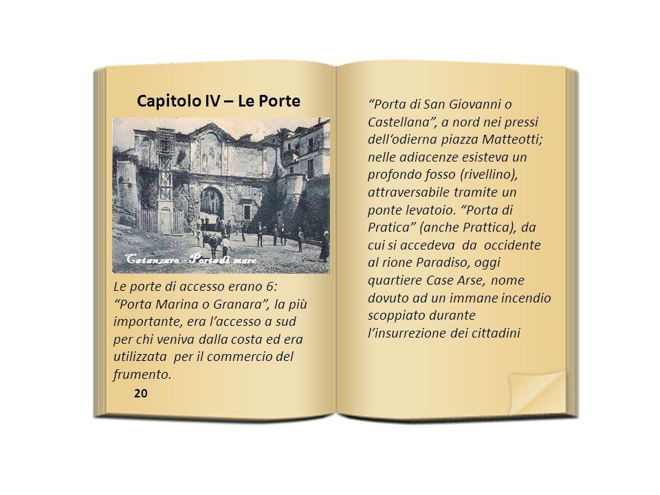 Capitolo IV – Le Porte