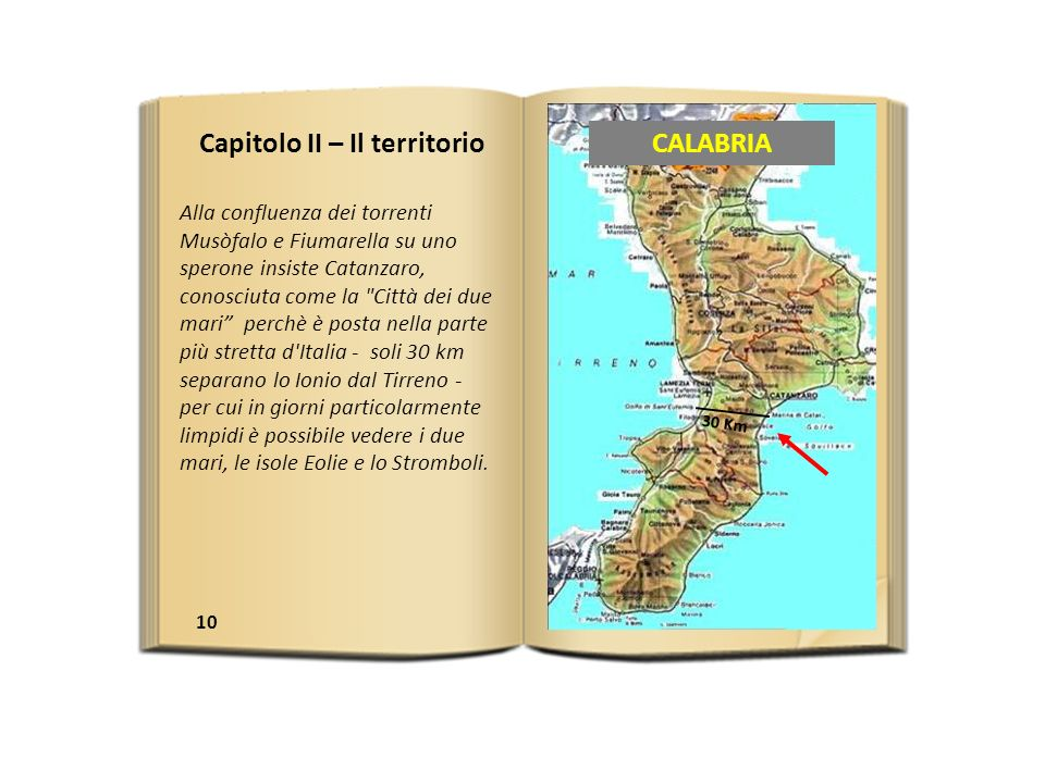 Capitolo II – Il territorio CALABRIA