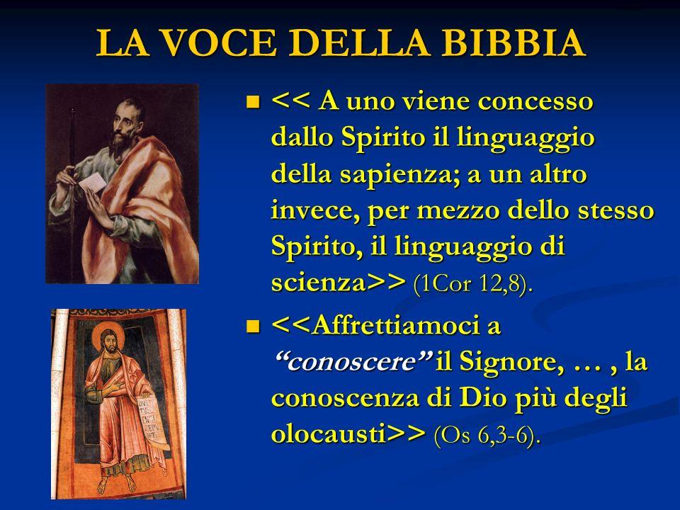 LA VOCE DELLA BIBBIA ritardo.