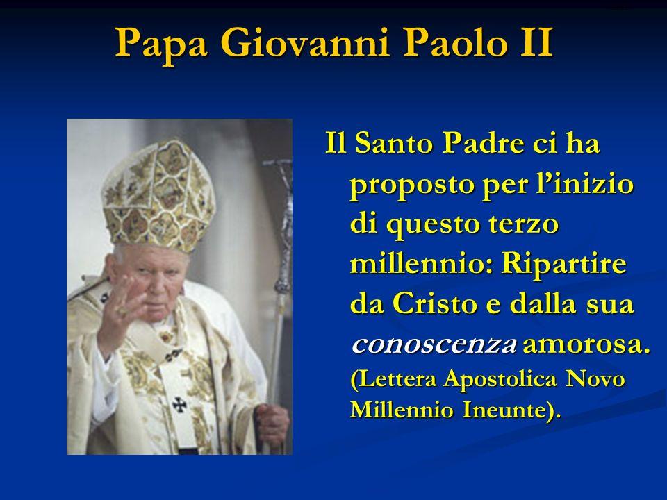 Papa Giovanni Paolo II ritardo.