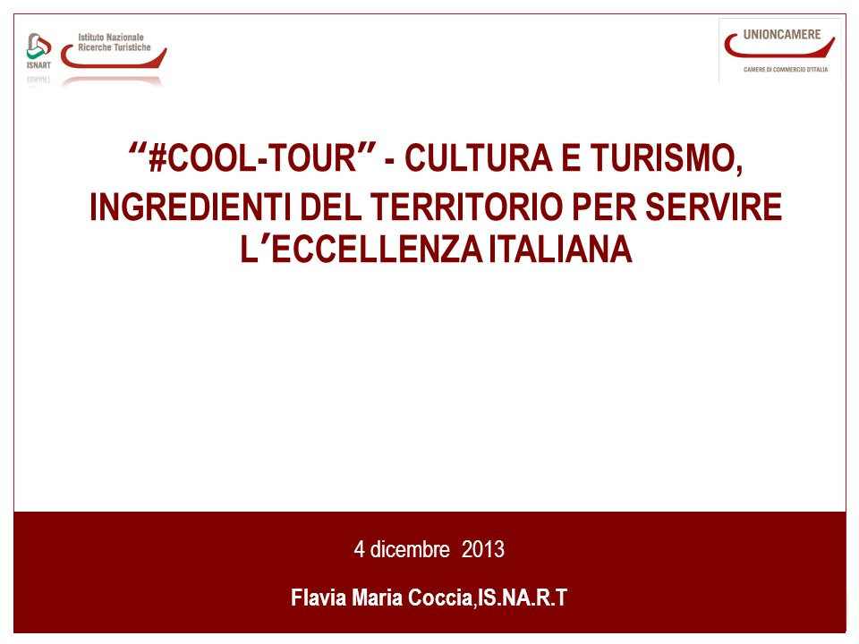 Flavia Maria Coccia,IS.NA.R.T