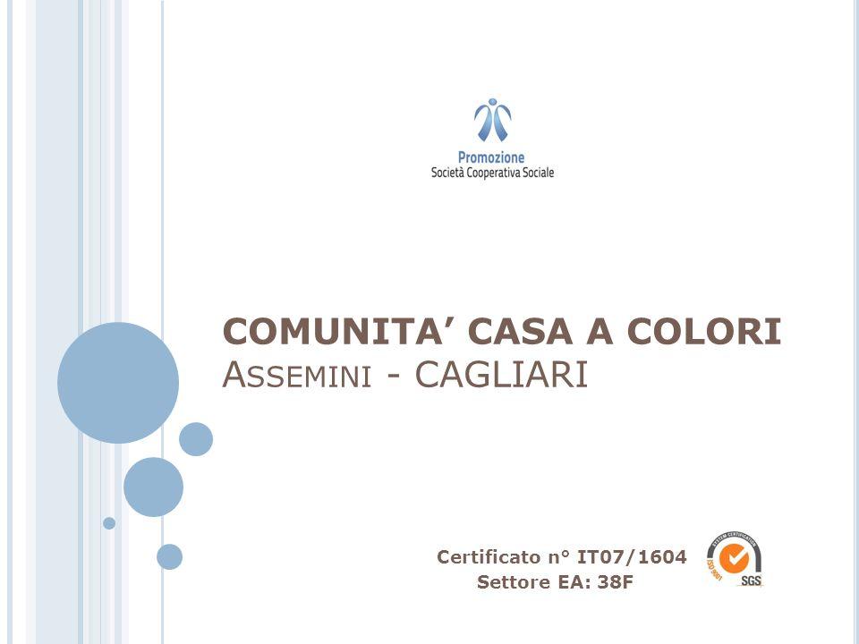 COMUNITA' CASA A COLORI Assemini - CAGLIARI