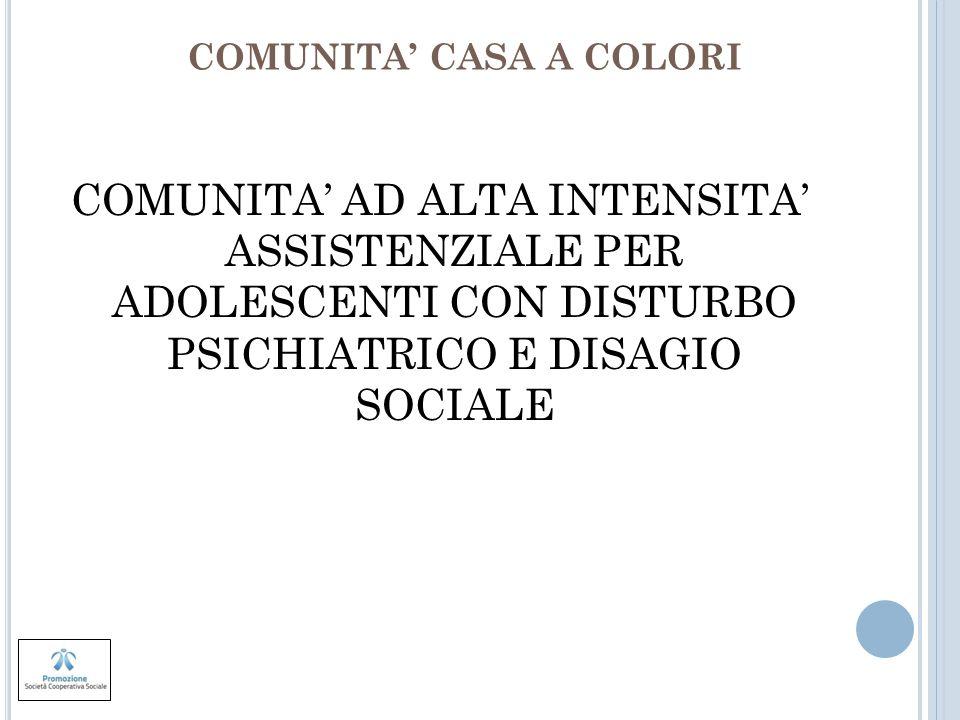 COMUNITA' CASA A COLORI
