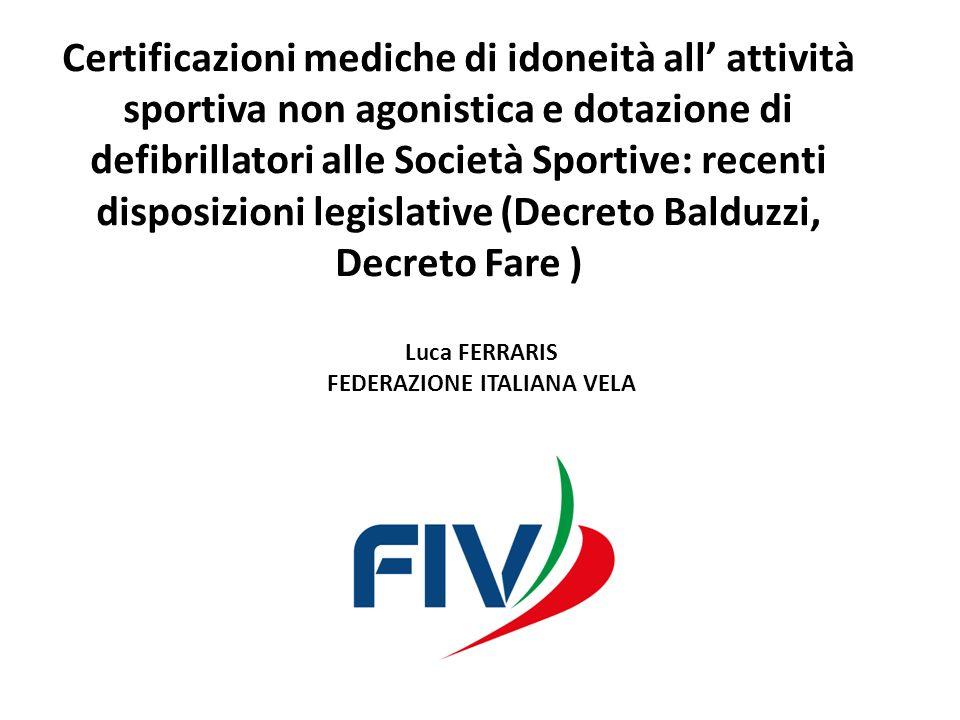 Luca FERRARIS FEDERAZIONE ITALIANA VELA
