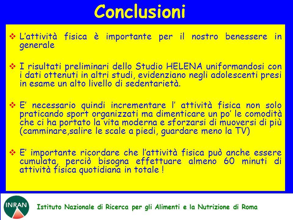 Istituto Nazionale di Ricerca per gli Alimenti e la Nutrizione di Roma