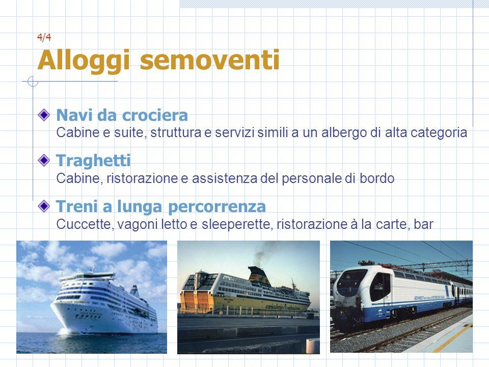 Traghetti Cabine, ristorazione e assistenza del personale di bordo