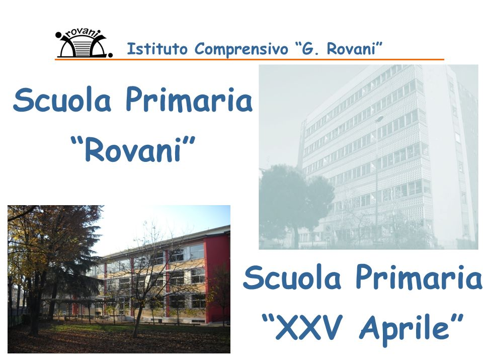 Istituto Comprensivo G. Rovani