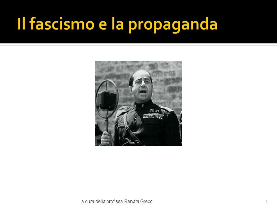 Il fascismo e la propaganda