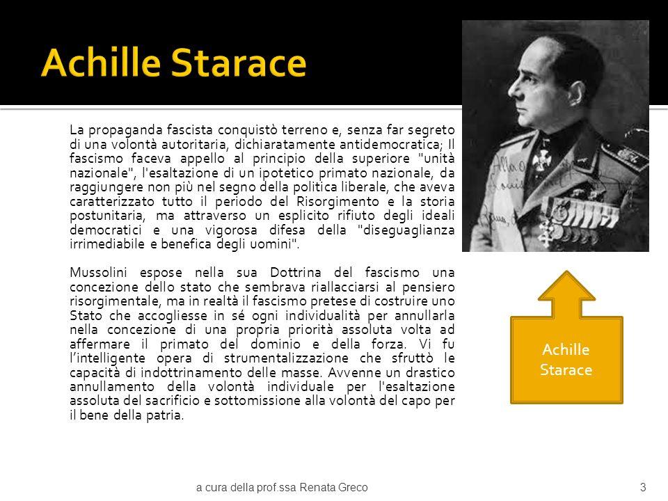Achille Starace Achille Starace