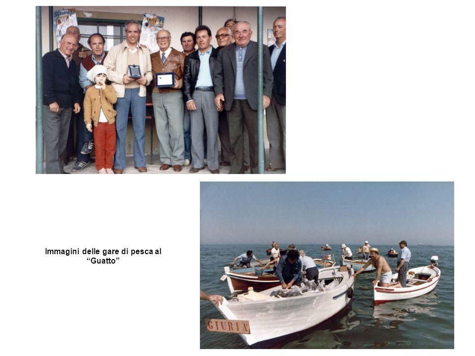 Immagini delle gare di pesca al Guatto