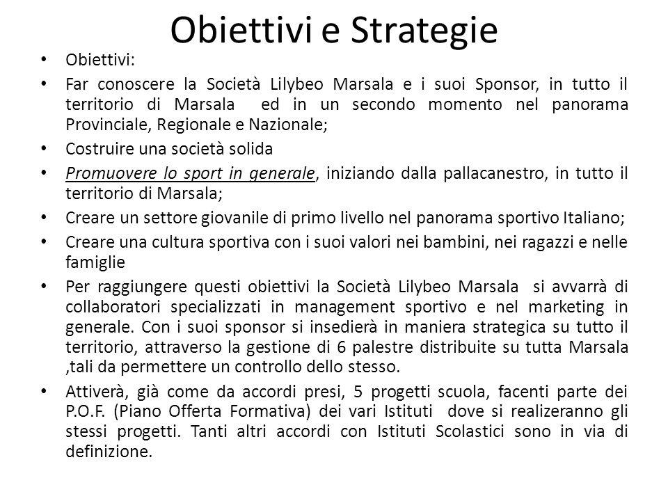 Obiettivi e Strategie Obiettivi: