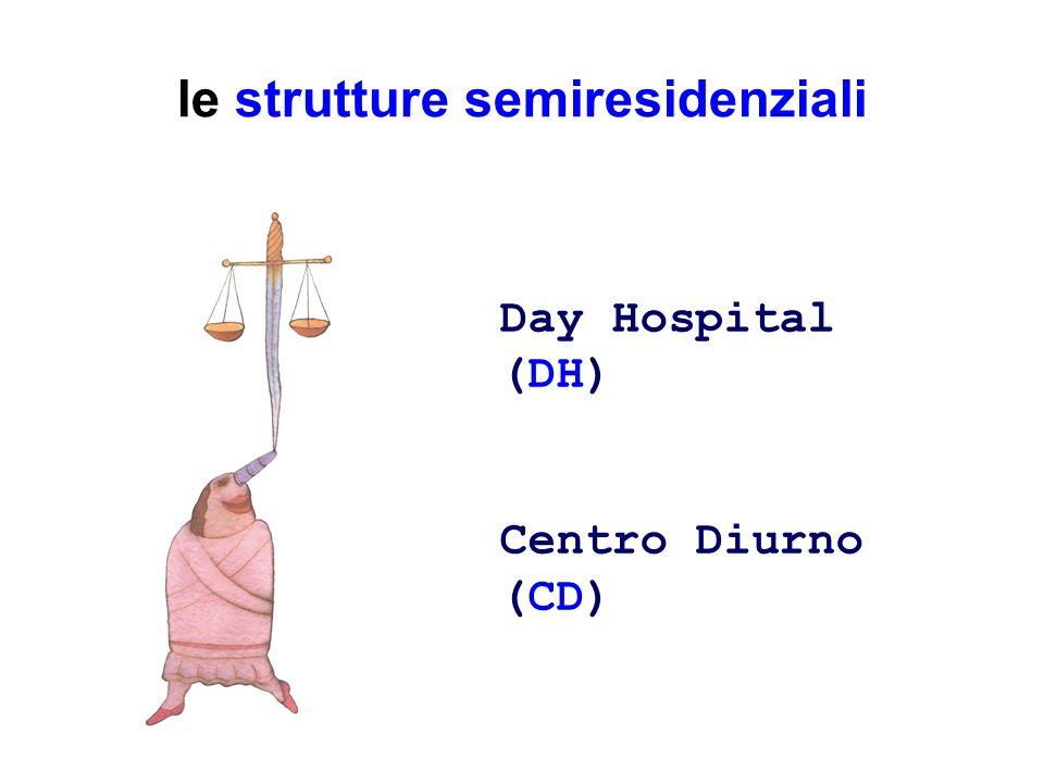 le strutture semiresidenziali