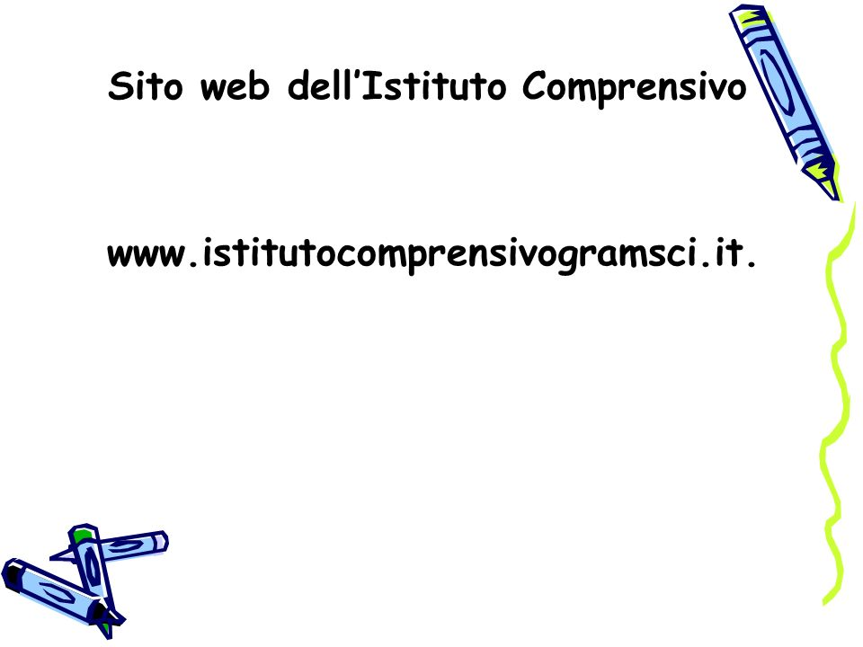 Sito web dell'Istituto Comprensivo