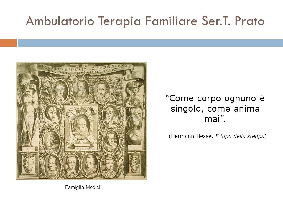 Ambulatorio Terapia Familiare Ser.T. Prato