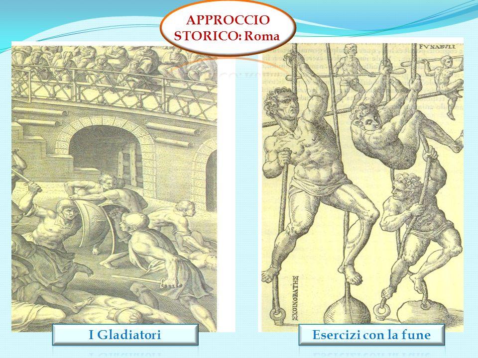 APPROCCIO STORICO: Roma I Gladiatori Esercizi con la fune