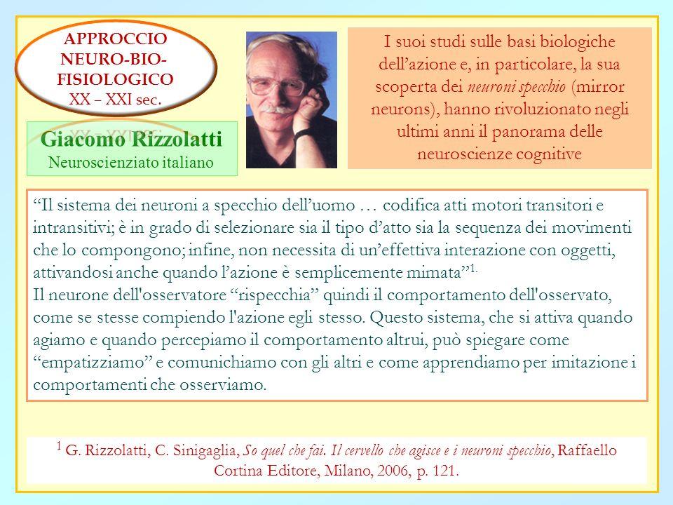 Neuroscienziato italiano
