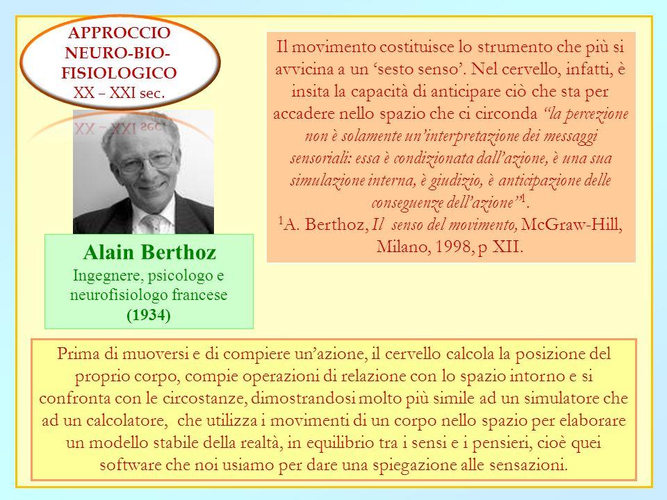 APPROCCIO NEURO-BIO- FISIOLOGICO. XX – XXI sec.