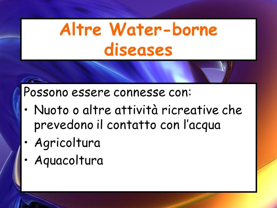 Altre Water-borne diseases