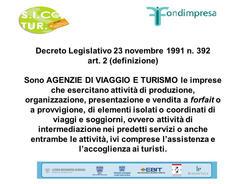Decreto Legislativo 23 novembre 1991 n. 392