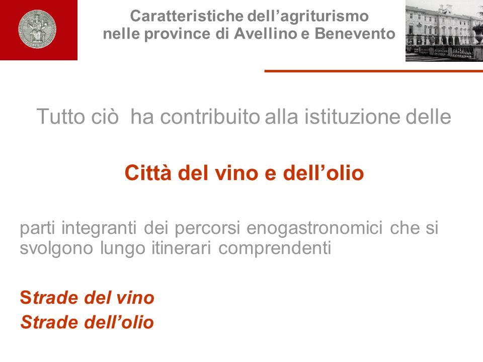 Città del vino e dell'olio