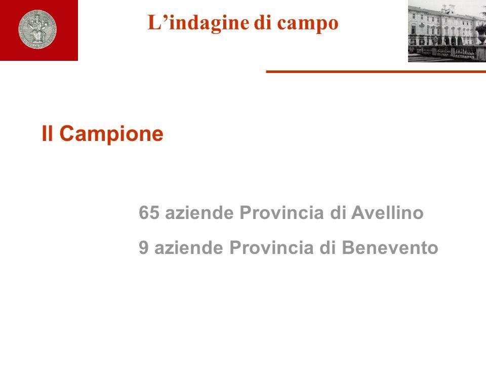 65 aziende Provincia di Avellino