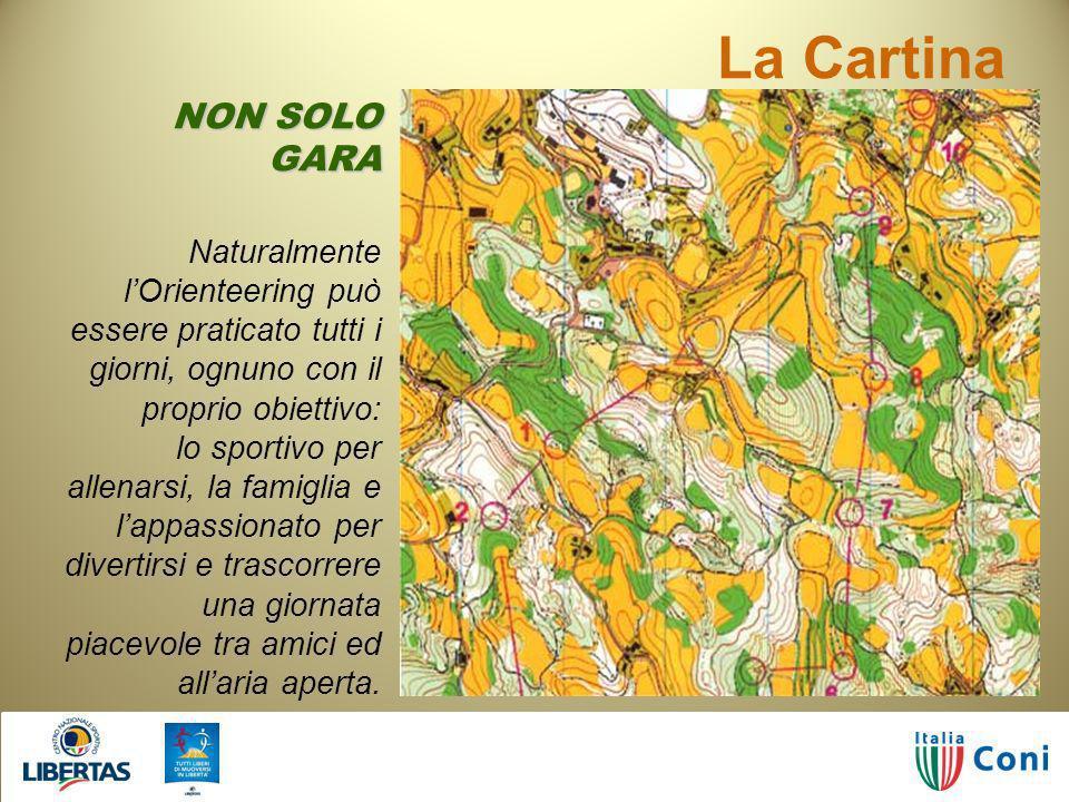 La Cartina NON SOLO GARA
