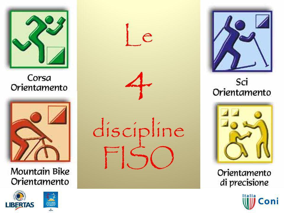 Le 4 discipline FISO 29/03/2017 Orienteering