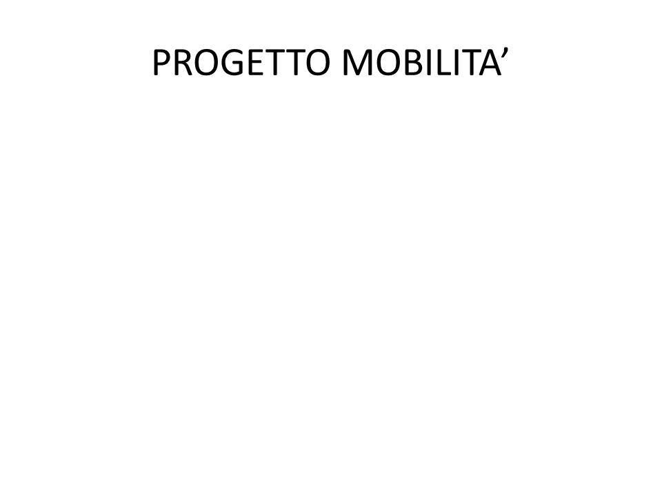 PROGETTO MOBILITA'