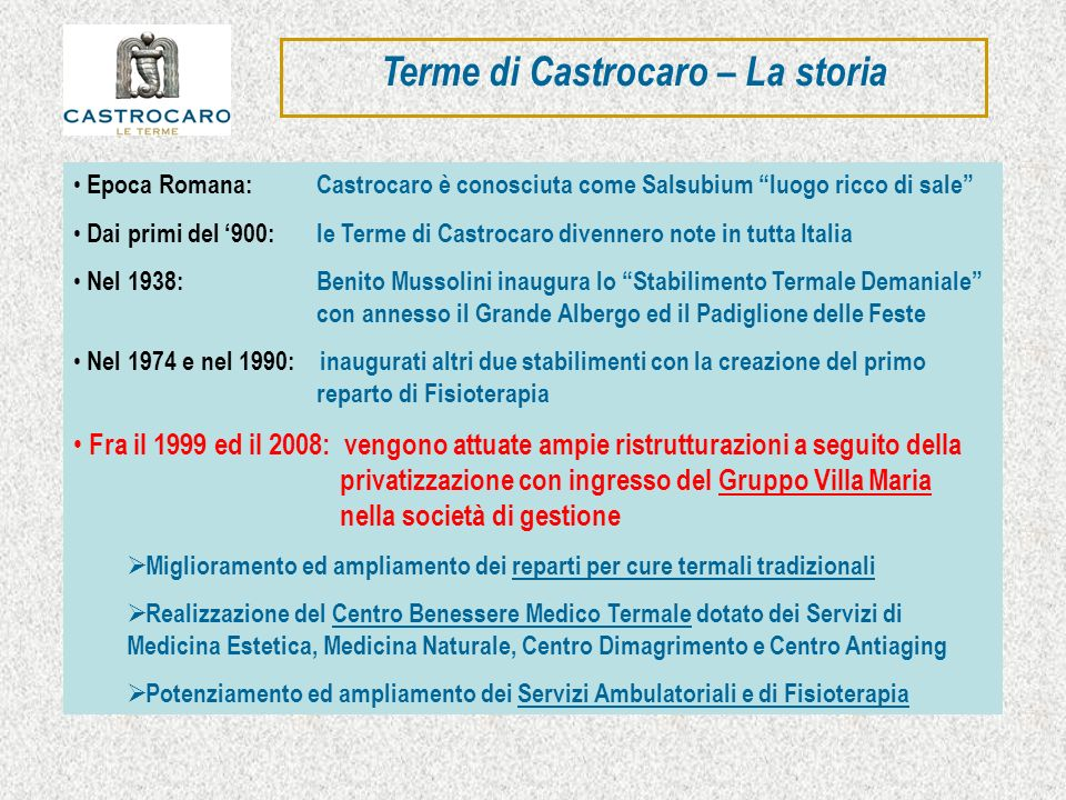 Terme di Castrocaro – La storia
