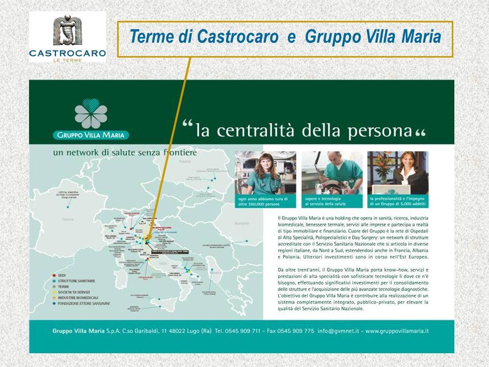 Terme di Castrocaro e Gruppo Villa Maria