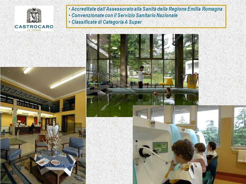 Accreditate dall'Assessorato alla Sanità della Regione Emilia Romagna