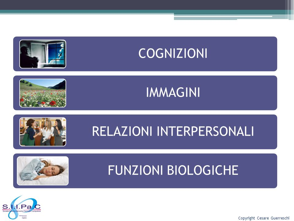 RELAZIONI INTERPERSONALI FUNZIONI BIOLOGICHE
