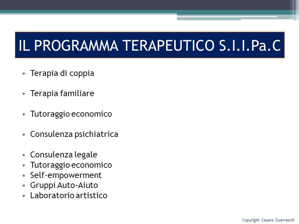 IL PROGRAMMA TERAPEUTICO S.I.I.Pa.C