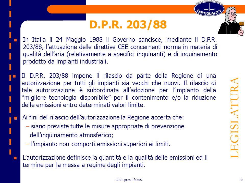 D.P.R. 203/88