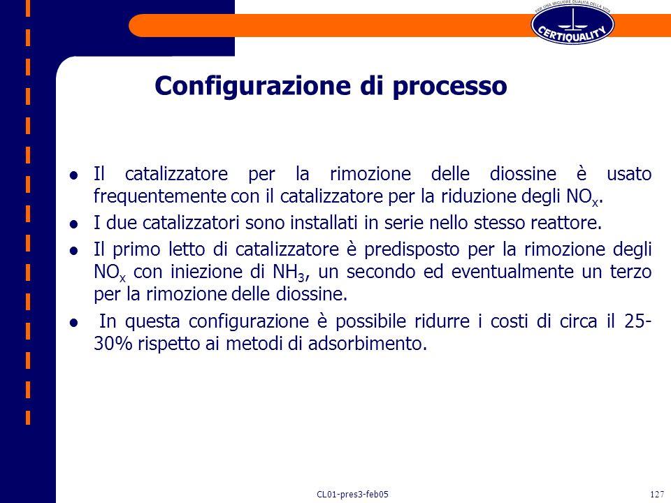 Configurazione di processo