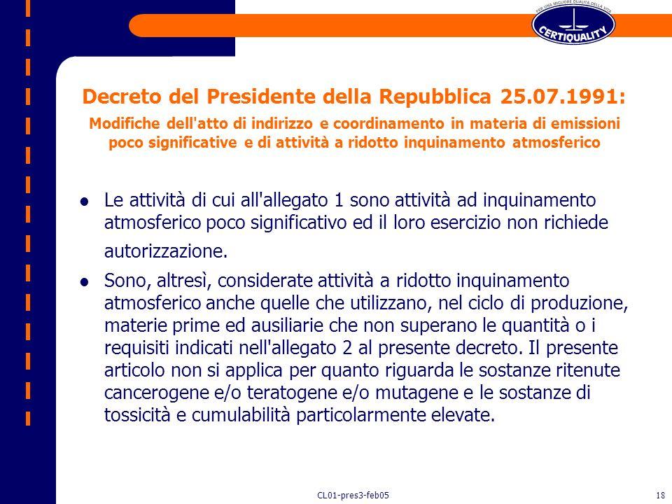 Decreto del Presidente della Repubblica 25. 07