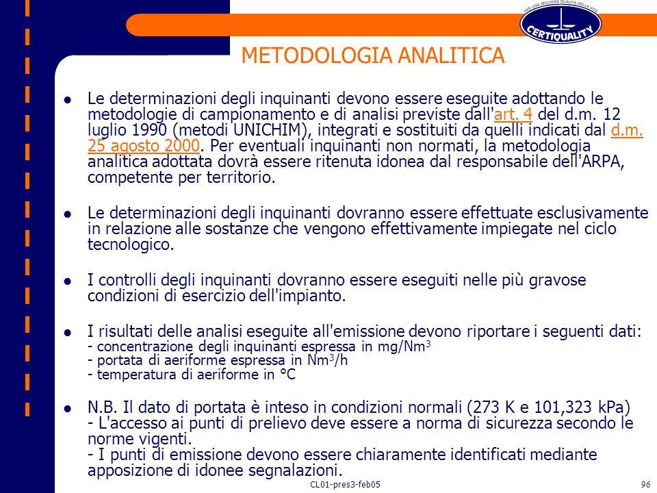METODOLOGIA ANALITICA